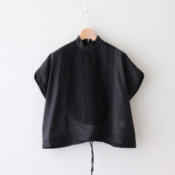 ASEEDONCLOUD | アシードンクラウド _ INSECT REPELLENT CLOTH CLASSIC BLOUSE #BLACK [211604]