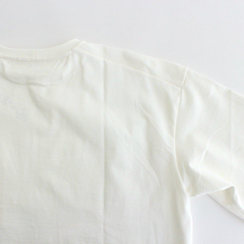 CREW NECK BOX TEE #OFF WHITE [A52103]