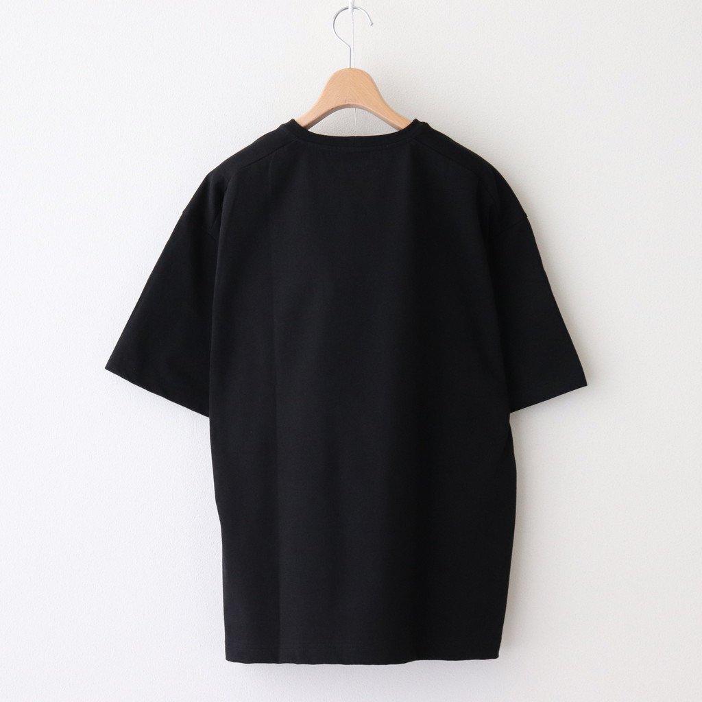 CREW NECK BOX TEE #BLACK [A52103]