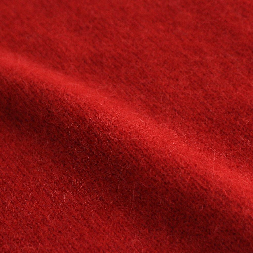 MONNIER ALPACA/WOOL KNIT #RED [A232212TK532]