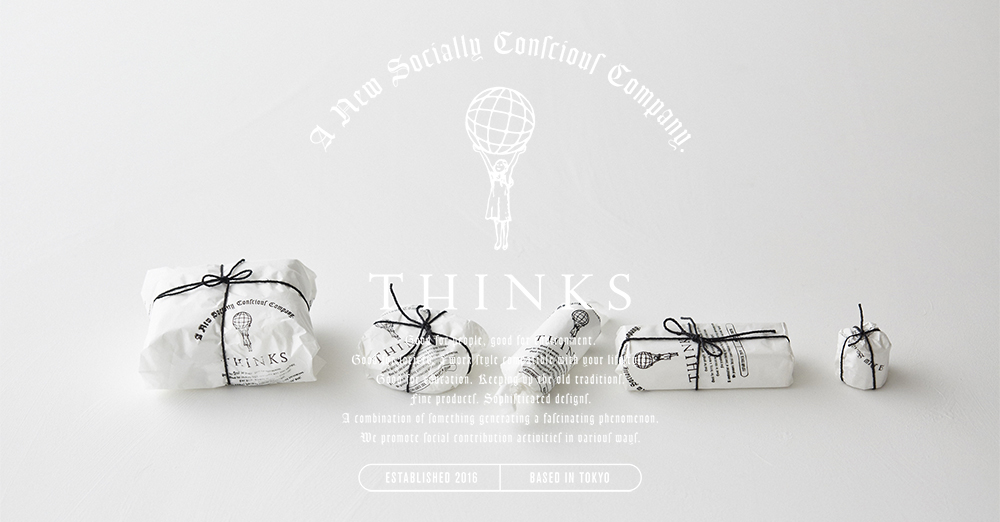 THINKS | Online Shop