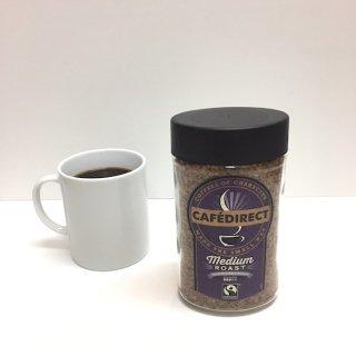 CAFEDIRECTインスタントコーヒー・ミディアムロースト