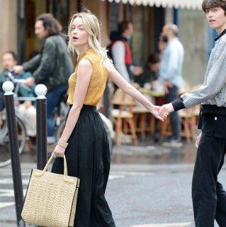 MAISON N.H PARIS / EMMA ラフィアバッグ
