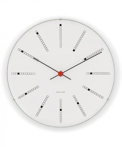 アルネ・ヤコブセン バンカーズ・クロック210mm/ブラック Arne Jacobsen Bankers Clock/Black