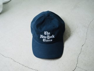 The New York Times Stacked Logo Baseball Cap