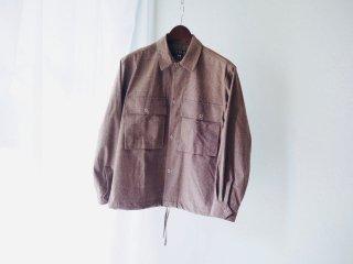 HAVERSACK Glen Check Open Collar Shirt Blouson<img class='new_mark_img2' src='https://img.shop-pro.jp/img/new/icons16.gif' style='border:none;display:inline;margin:0px;padding:0px;width:auto;' />