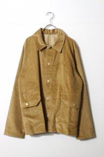 d'emploi - Big Butterscotch Corduroy Fatigue Jacket -