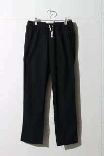 Corridor - Ripstop Black Drawstring Trousers -