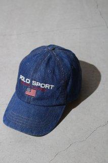 POLO SPORT - Indigo Logo Baseball Cap -