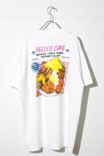 DELI AND GROCERY × PLAYDUDE - Felix's Cafe Tee