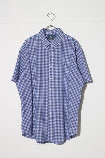 UPSIZED FIT - Half Sleeve B.D Shirt