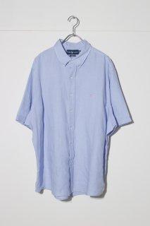 UPSIZED FIT - Half Sleeve B.D Linen Shirt