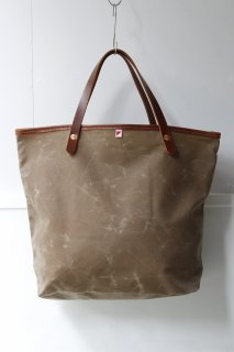 d'emploi - Waxed Tan Daily Tote -