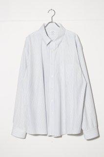 UPSIZED FIT - Stripe Dress Shirt Brooks Brothers ver.