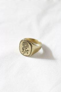 LHN JEWELRY - Rose Signet Ring -