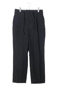 HAVERSACK - Cotton Poplin Tapered Easy Pants