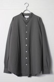 KANEMASA - Royal Ox Dress Knit shirt Stand Collar Loose Fit