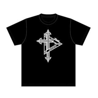 D Cross Tee Black