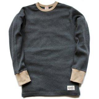 TOUGHKNIT W-1003 ミディアムウェイトLSサーマルTシャツ(ツートーン仕様)