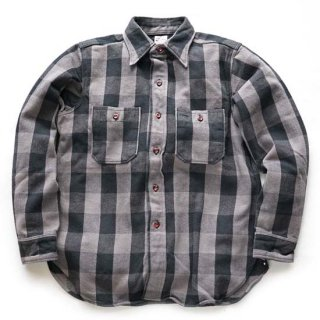 WAREHOUSE LOT3104 CHECK FLANNEL SHIRT ( A-1GRAY )