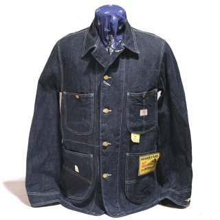 SUGAR CANE 11oz BLUE DENIM WORK COAT(SC14371-421A)