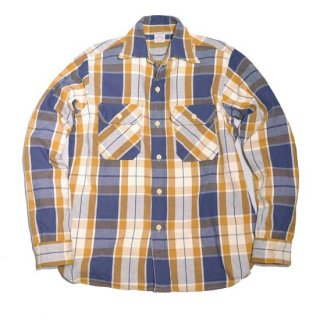 WAREHOUSE LOT3104 CHECK FLANNEL SHIRT ( E-2 Navy)