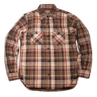 Deluxeware HV-39 60s NEW VINTAGE (Heavy Check Flannel Shirt)