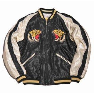 "Tailor TOYO・Mid 1950s Style Acetate Souvenir Jacket ""ROARING TIGER"" × ""LANDSCAPE""(TT14813-119)"