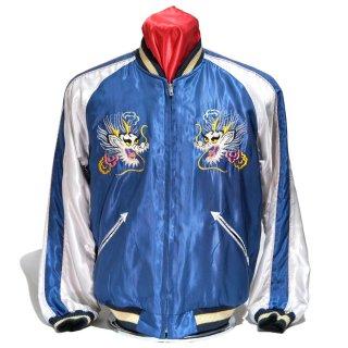 "Tailor TOYO・Mid 1950s Style Acetate Souvenir Jacket ""DRAGON"" × ""BLACK EAGLE""(TT14813-125)"