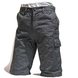 TOUGHNESS W-730M/B MIX BLACK CLOTH HALF PANTS