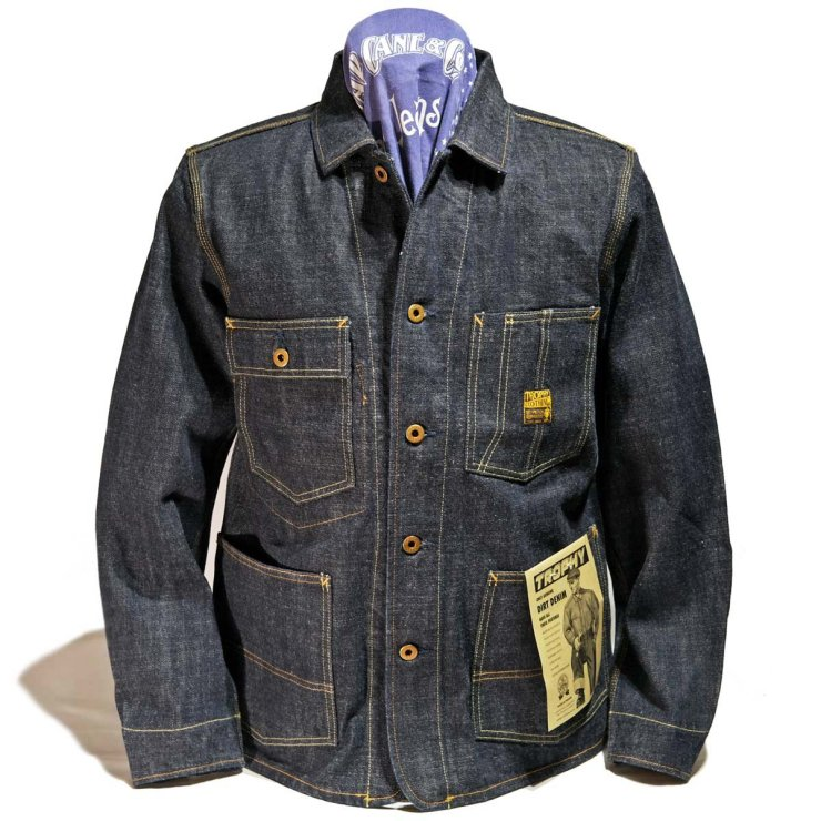 TROPHY CLOTHING 2604 DIRT DENIM COVERALL