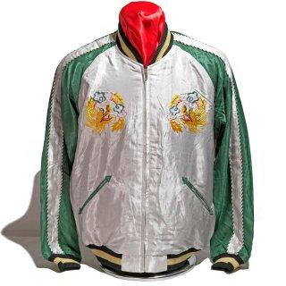 "Tailor TOYO ・ Early 1950s Style Acetate Souvenir Jacket ""ROARING TIGER"" × ""LANDSCAPE""(TT14892-190)"