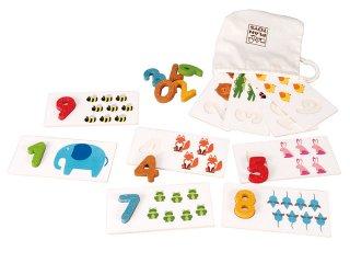 [3歳-]ナンバー 1-10 〈数の理解〉PLANTOYS