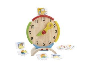 [4歳-]アクティビティクロック〈時計のおもちゃ〉PLANTOYS