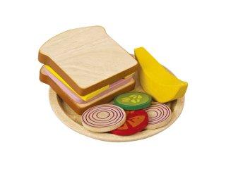 [3歳-]サンドイッチセット〈おままごと・ごっこ遊び〉PLANTOYS
