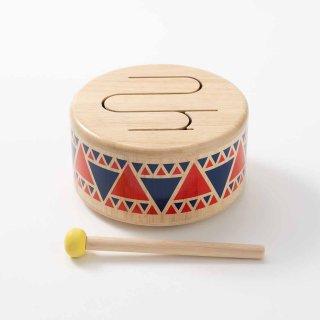 [1歳-]ソリッドドラム〈楽器のおもちゃ〉PLANTOYS