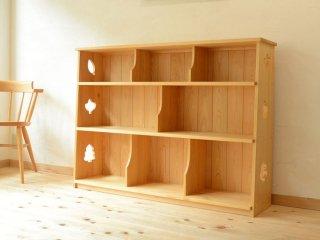 [1歳-]僕と私の絵本棚〈絵本収納〉なかよしライブラリー
