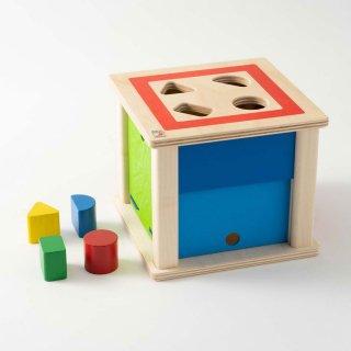 [1歳半-]トリダスボックス〈木製型はめパズル〉SELECTA
