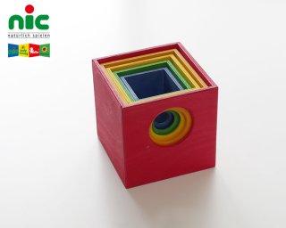 [1歳-]スタックボックス〈入れ子・重ねる〉NIC