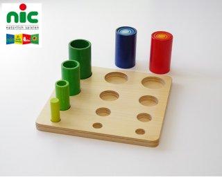 [3歳-]WALTERイン&オン〈ペグさし・木のおもちゃ〉NIC