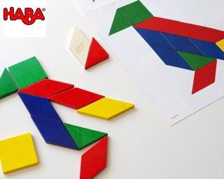 [3歳-]モザイク・小〈木製知育パズル〉HABA