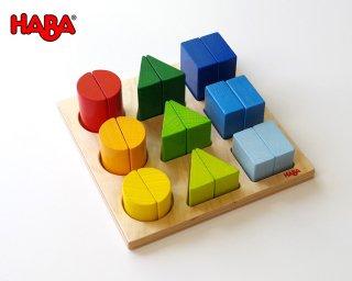 [2歳半-]型はめボード・ベーシック〈型はめパズル〉HABA