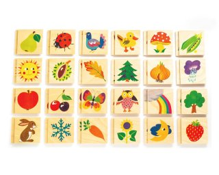 [3歳-]メモ・ナチュラル〈神経衰弱・メモリーゲーム〉Atelier Fischer