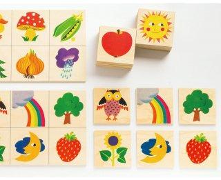 [2歳-]ロト・ナチュラル〈絵合わせゲーム〉Atelier Fischer