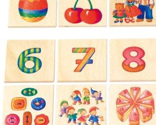 [4歳-]数のゲーム〈絵合わせゲーム〉SELECTA