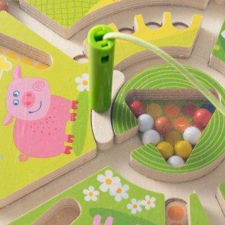 [2歳-]マグネットボード・かずあわせ〈磁石のおもちゃ〉HABA