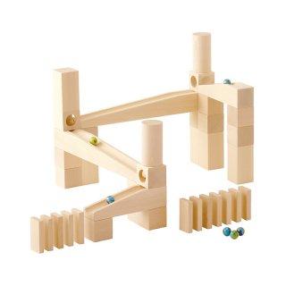 [3歳-]組立てクーゲルバーン・スターターセット〈積み木・玉転がし〉HABA