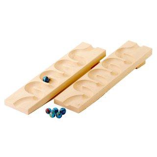 [3歳-]組立てクーゲルバーン・ウェーブスロープセット〈積み木・玉転がし〉HABA