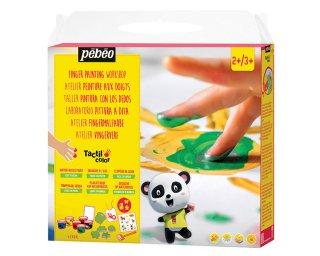[2歳-]フィンガーペイント・紙用 スーパーセット Pebeo