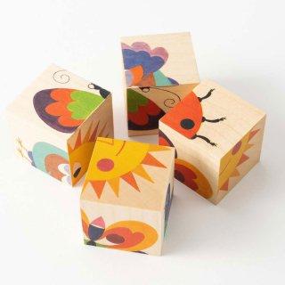 [3歳-]六面体パズル ナチュラル〈キューブパズル〉 Atelier Fischer
